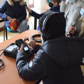 Atelier Radio avec les jeunes de Balzac